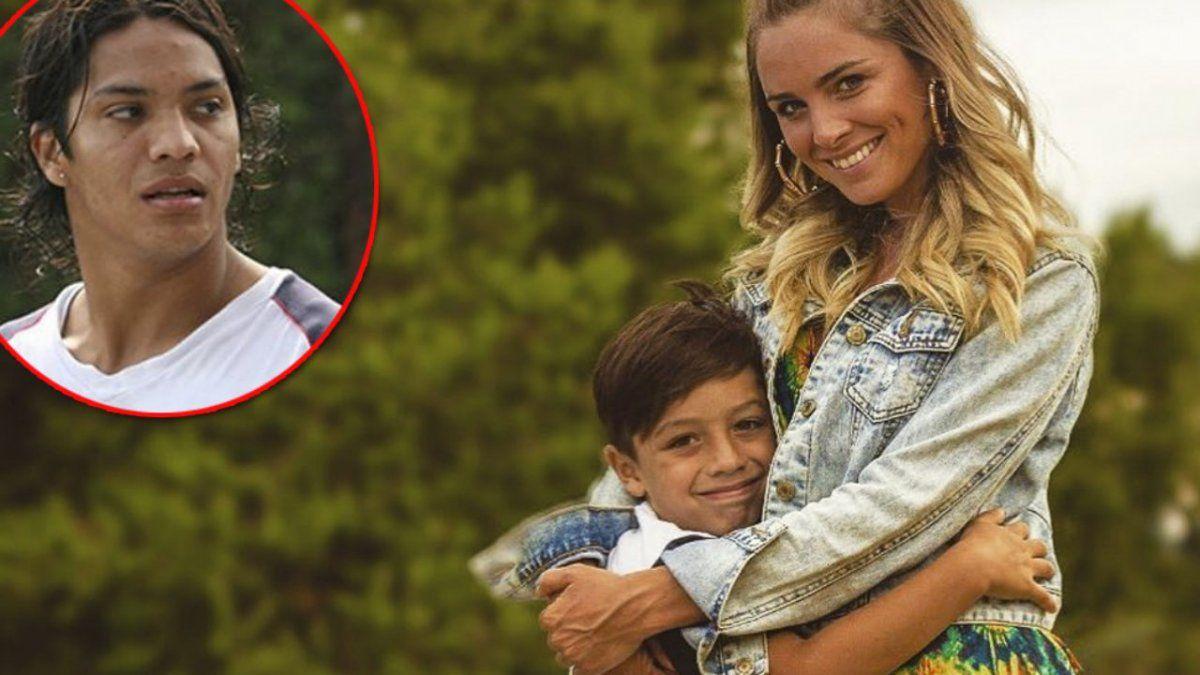 Catalina Artusi y su hijo Bacco la pasaron muy mal