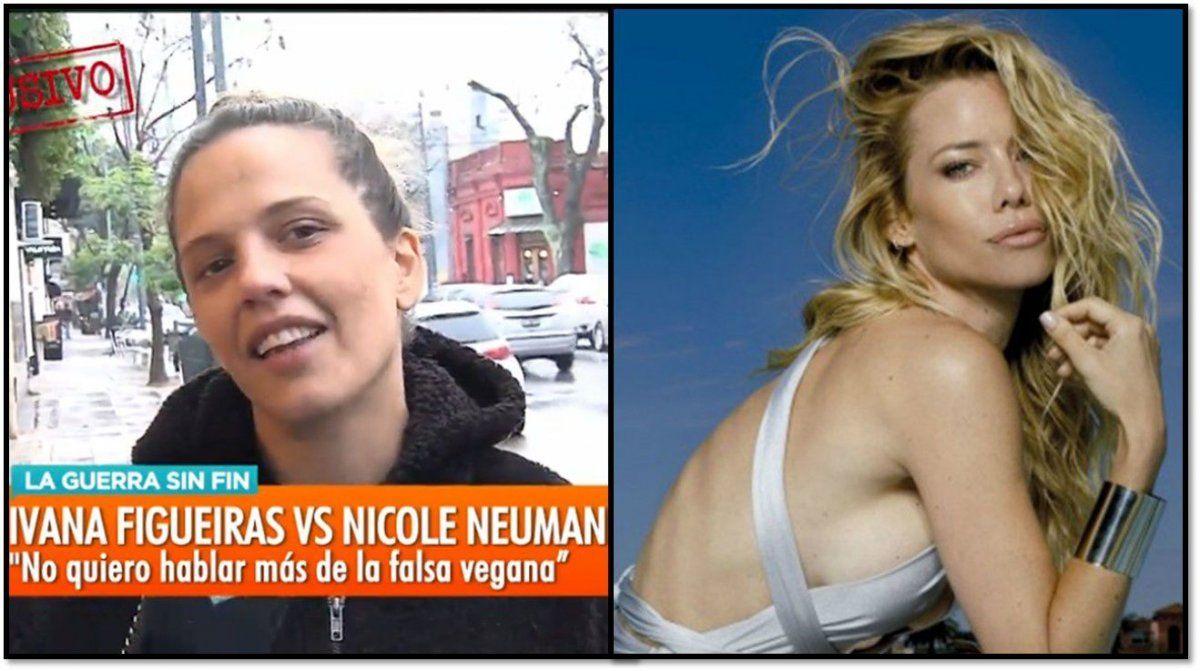 Sobre los audios de Nicole-Cubero habló Ivana Figueiras y la aniquiló: la gente tóxica, agresiva para afuera, me da pena, me da asco