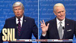 El famoso actor Jim Carrey imitó a Joe Biden en el famoso programa SNL