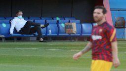 Koeman sobre Lionel Messi: Seguiremos como de costumbre