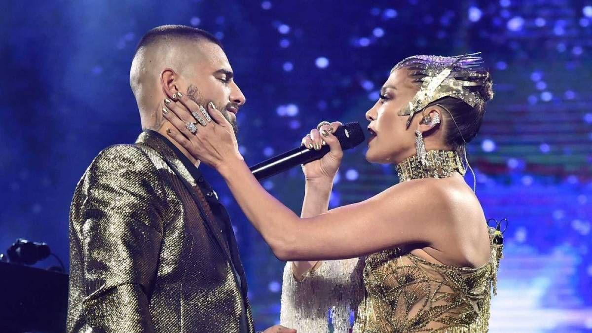 ¡Inseparables! Jennifer Lopez y Maluma cantarán en los American Music Awards 2020