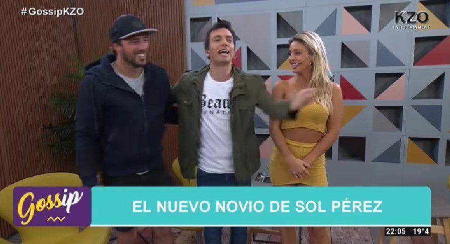 Sol Pérez presentó oficialmente a su novio Rodrigo, profesor de equitación: Yo me lo levanté a él