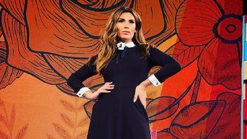 Florencia de la V, panelista de A la Tarde, por América