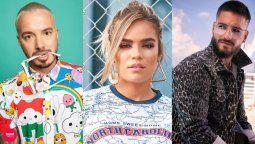 ¡Poder colombiano! J Balvin, Karol G y Maluma, nomidados a los MTV europeos