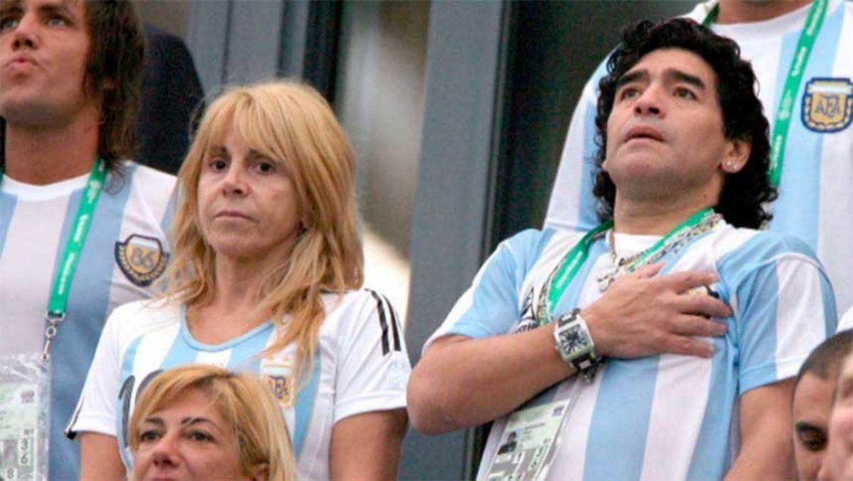 Claudia Villafañe y la demanda de Diego.