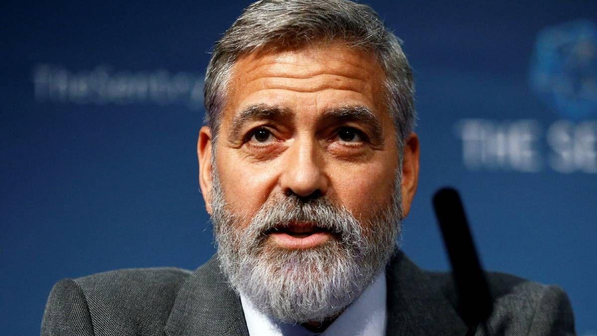 ¡Todo por la profesión! George Clooney fue hospitalizado por bajar mucho de peso