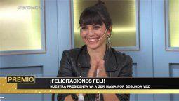 El gran premio de la cocina: Felicitas Pizarro anunció que está embarazada