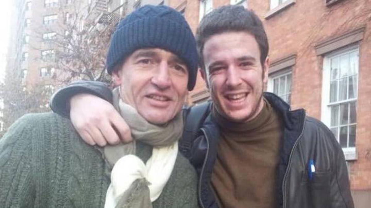 Alessandro Lequio recuerda un viaje inmejorable con su hijo Álex Lequio