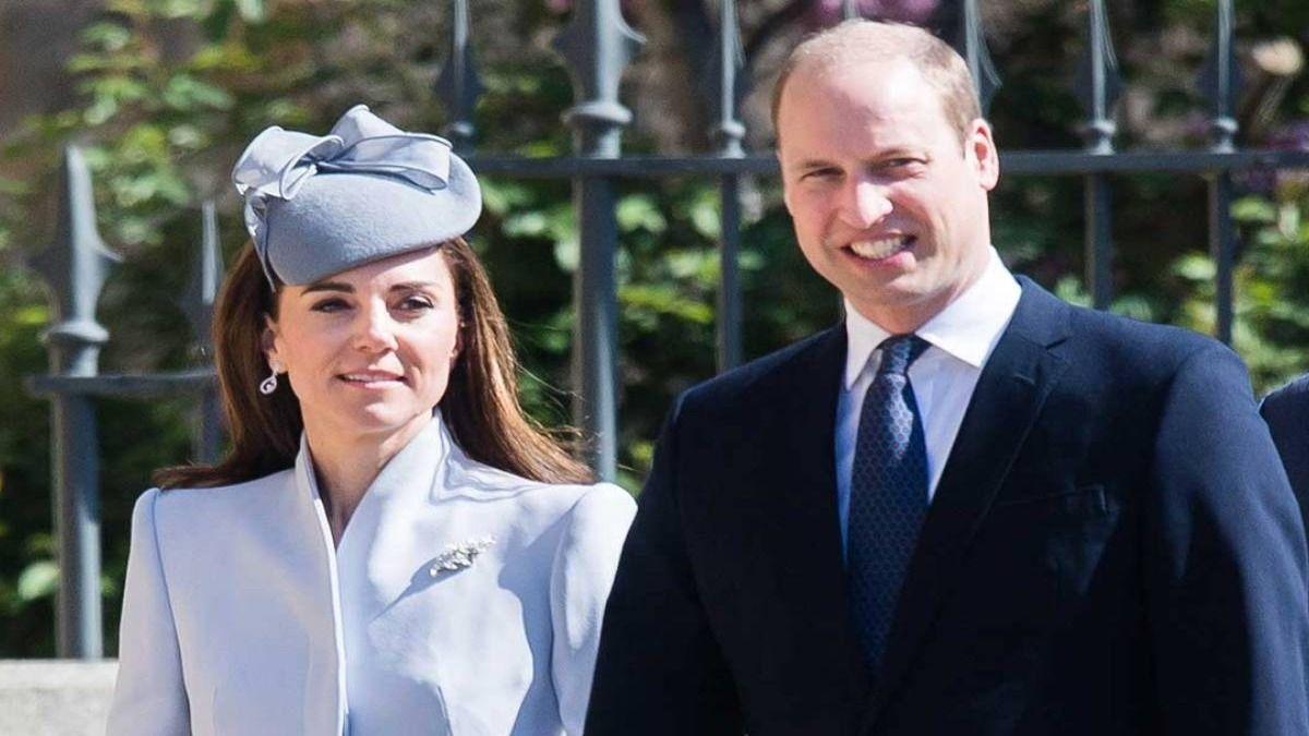 Kate Middleton junto al príncipe William