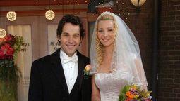 Paul Rudd fue el esposo de Lisa Kudrow en la serie Friends