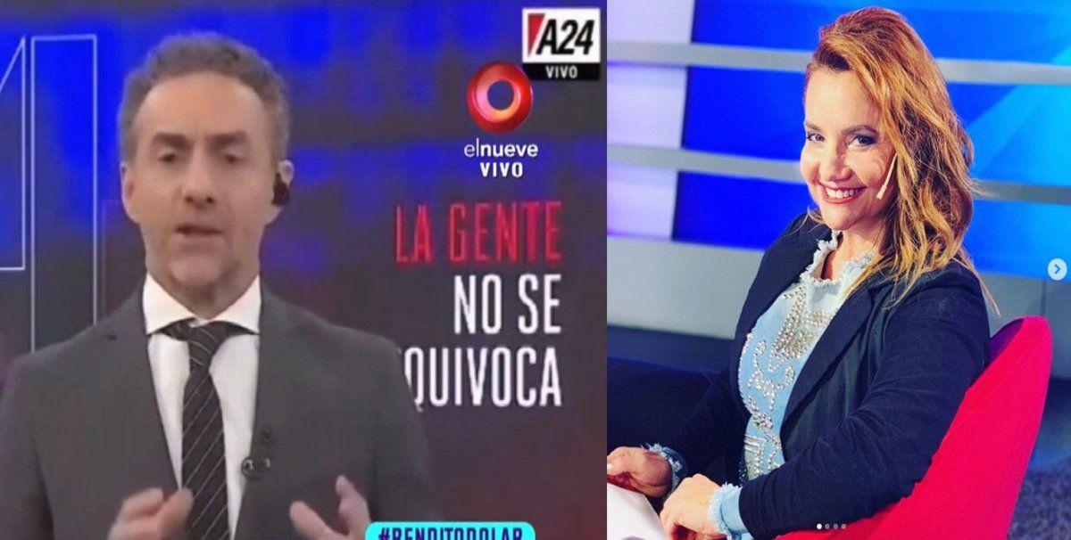 Nancy Pazos destrozó a Luis Majul: No empatizaste con la mina que limpia en tu casa