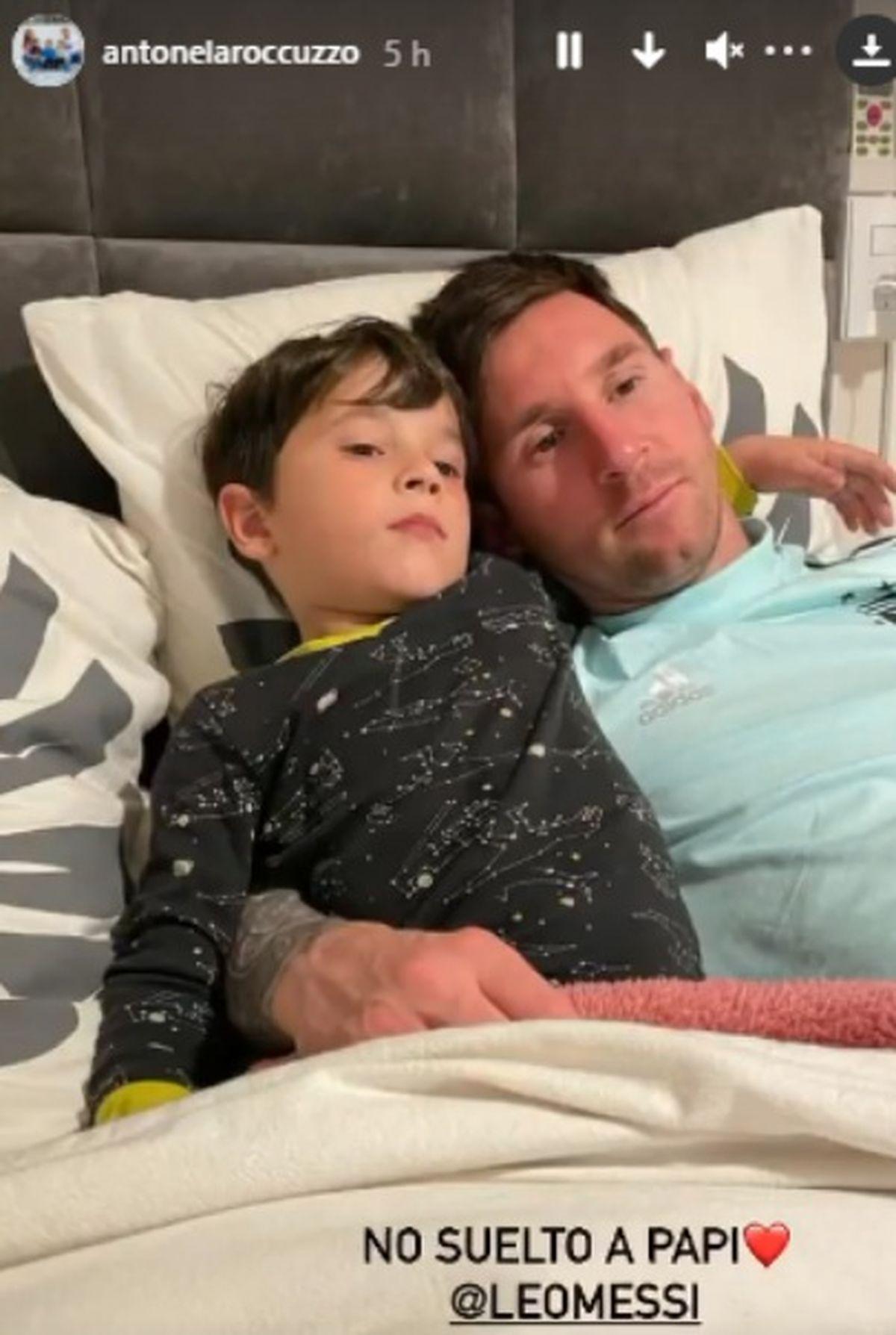 La foto íntima de Messi al llegar a su hogar tras la victoria en la Copa Américavisibility