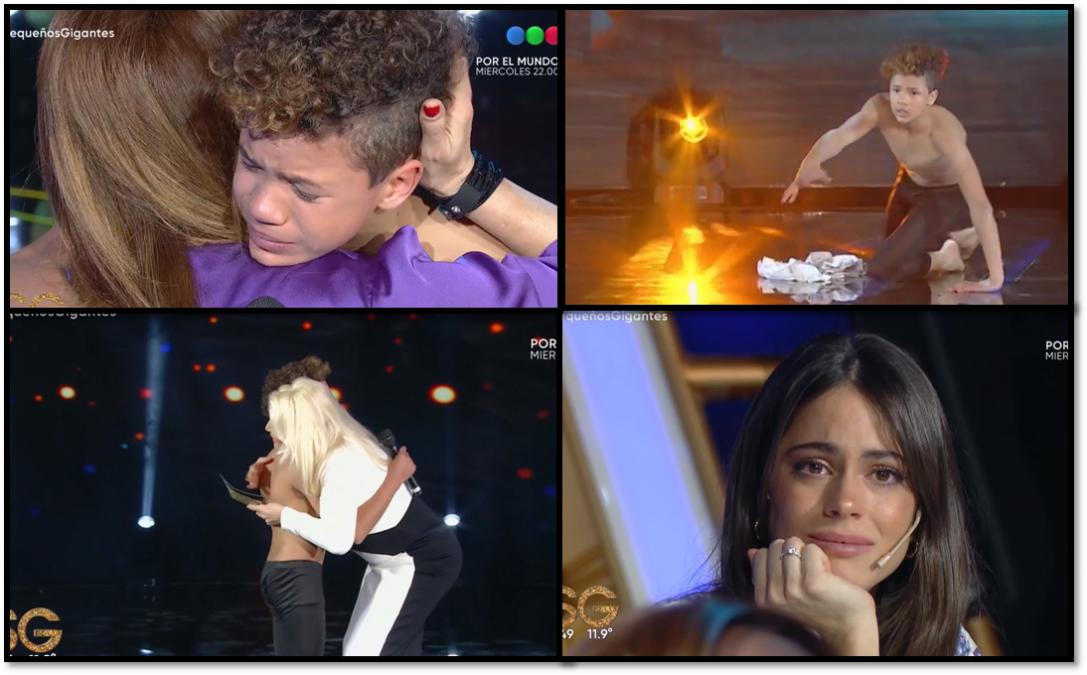 El participante de Pequeños Gigantes que lucha contra el bullying e hizo llorar a Susana, Tini y Lizy