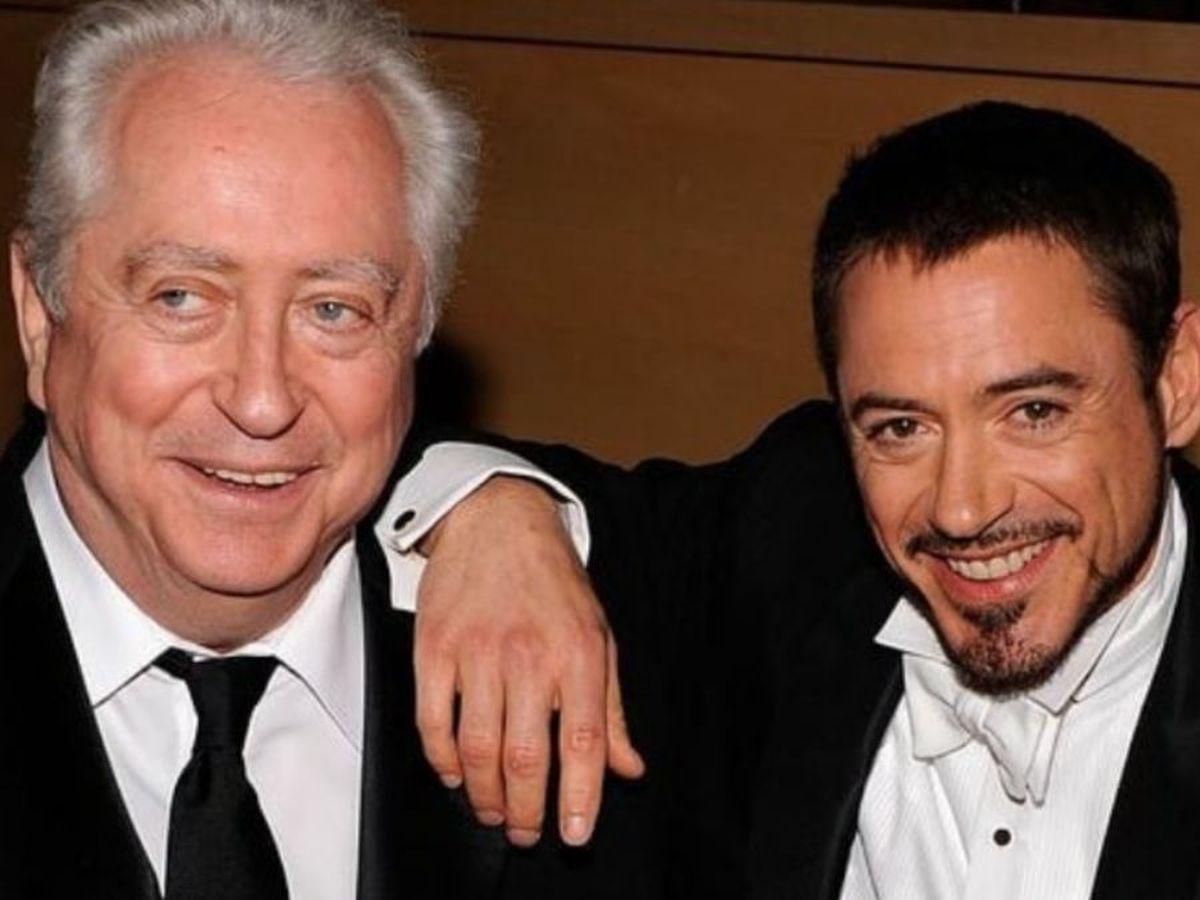 Robert Downey Jr. junto a su padre
