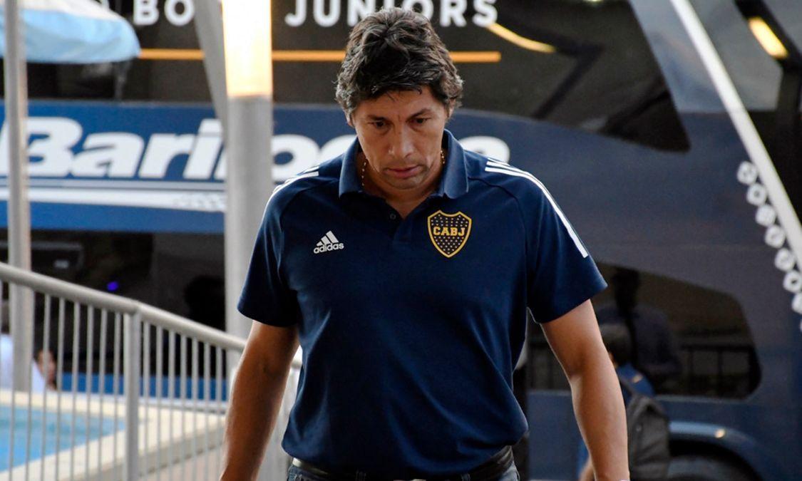El ex jugador Bermúdez trató de canalizar el reclamo de sus compañeros de Boca Juniors