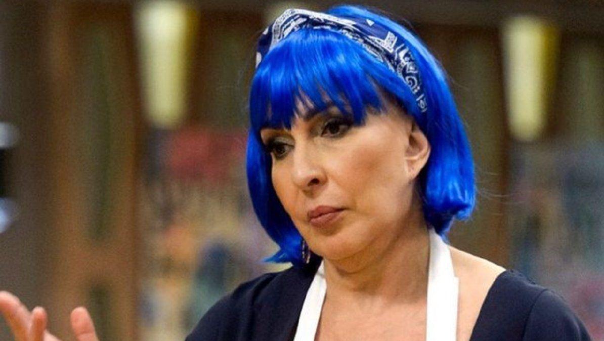 Georgina Barbarossa se lastimó en el mercado extremo de Masterchef Celebrity