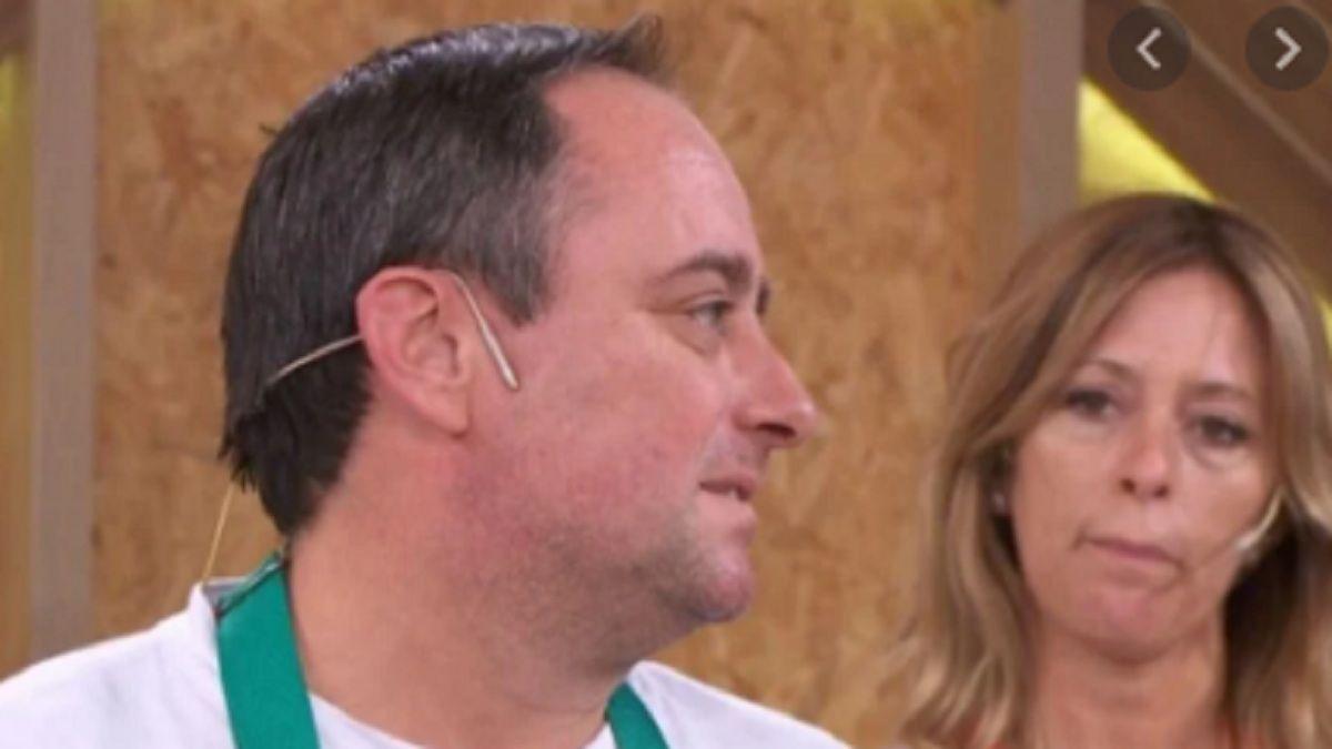 Un participante de El gran premio de la cocina se quebró al recordar sus inicios