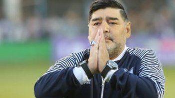 Sergio Lapegüe se quebró en vivo por la muerte de Diego Maradona