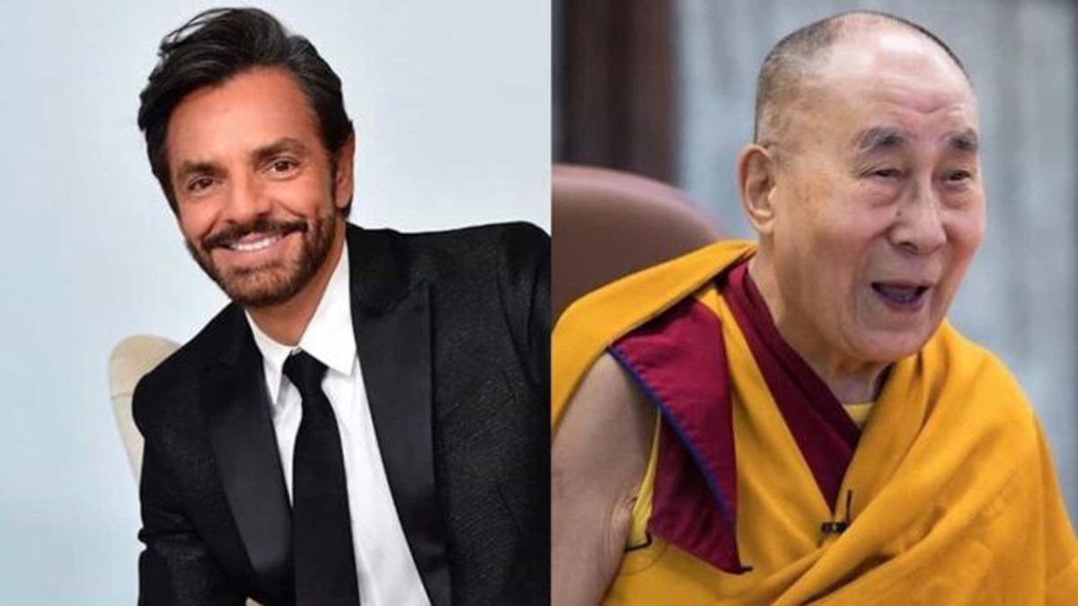 Eugenio Derbez acudirá al Dalái Lama para enviar un mensaje de paz