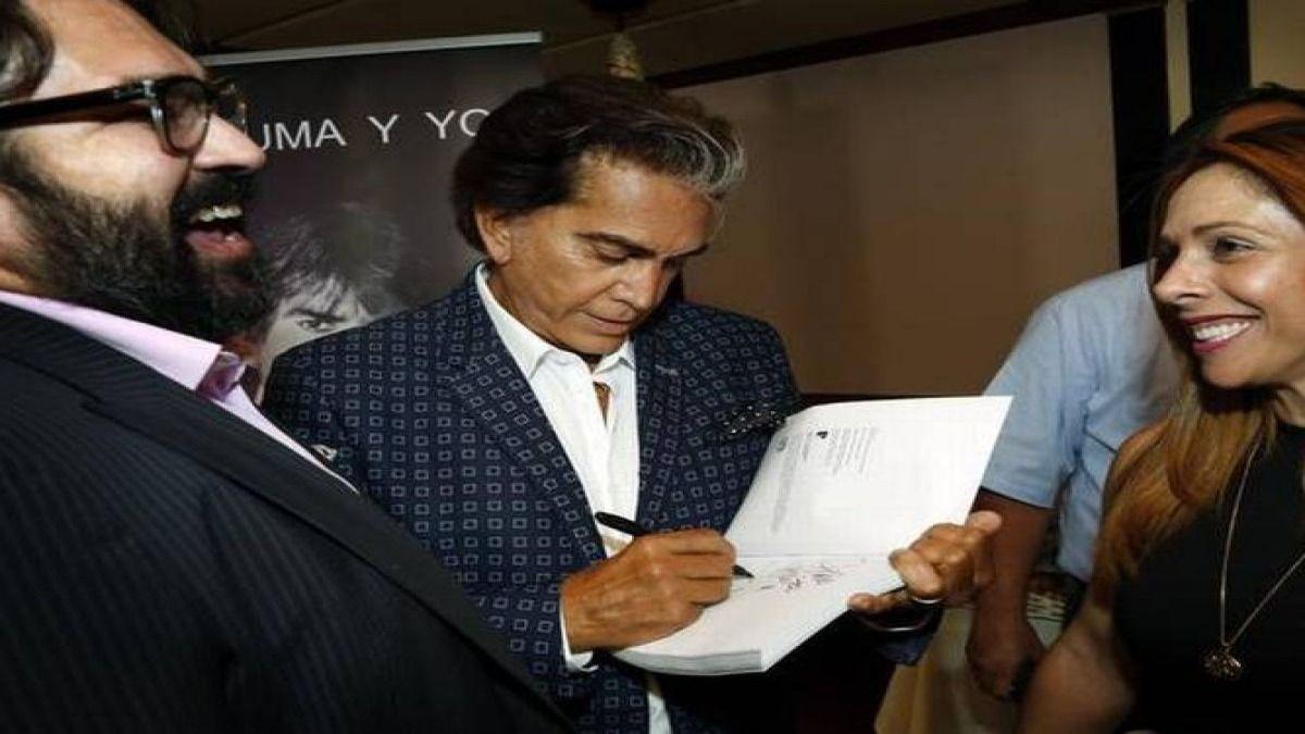 Toti Maseli junto a Jose Luis El Puma Rodríguez