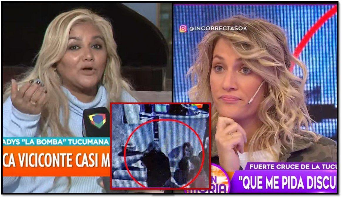 El video que revela que Mica Viciconte no golpeó a la Bomba Tucumana