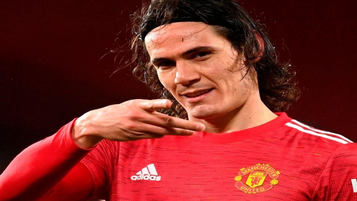 Edinson Cavani renovó su contrato con el Manchester United hasta 2022