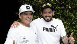 Diego Maradona Jr. vendrá a Buenos Aires a darle el último adiós a su padre
