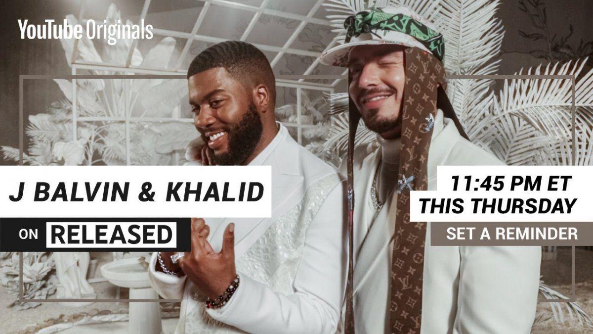 ¡El hombre de moda! J Balvin lanzara tema con Khalid