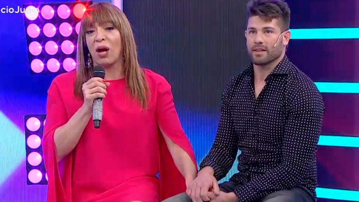 Leo Alturria y Lizy Tagliani