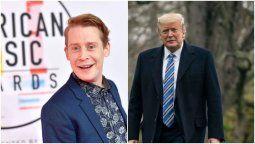 ¡Otro más! Macaulay Culkin también en contra de Donald Trump