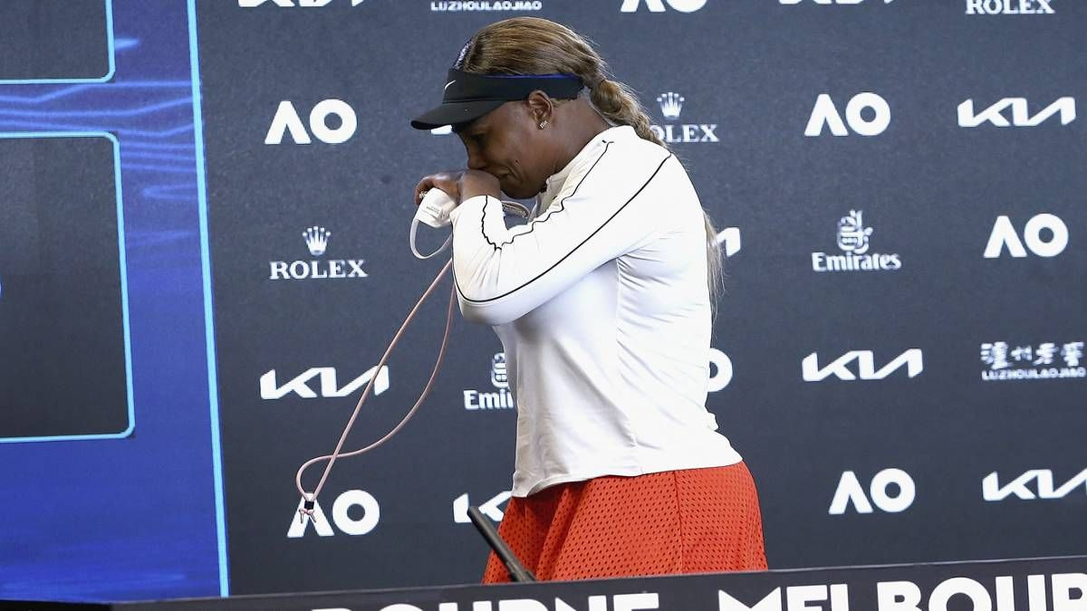 ¡Se despidió! Serena Williams quedó fuera de Australia
