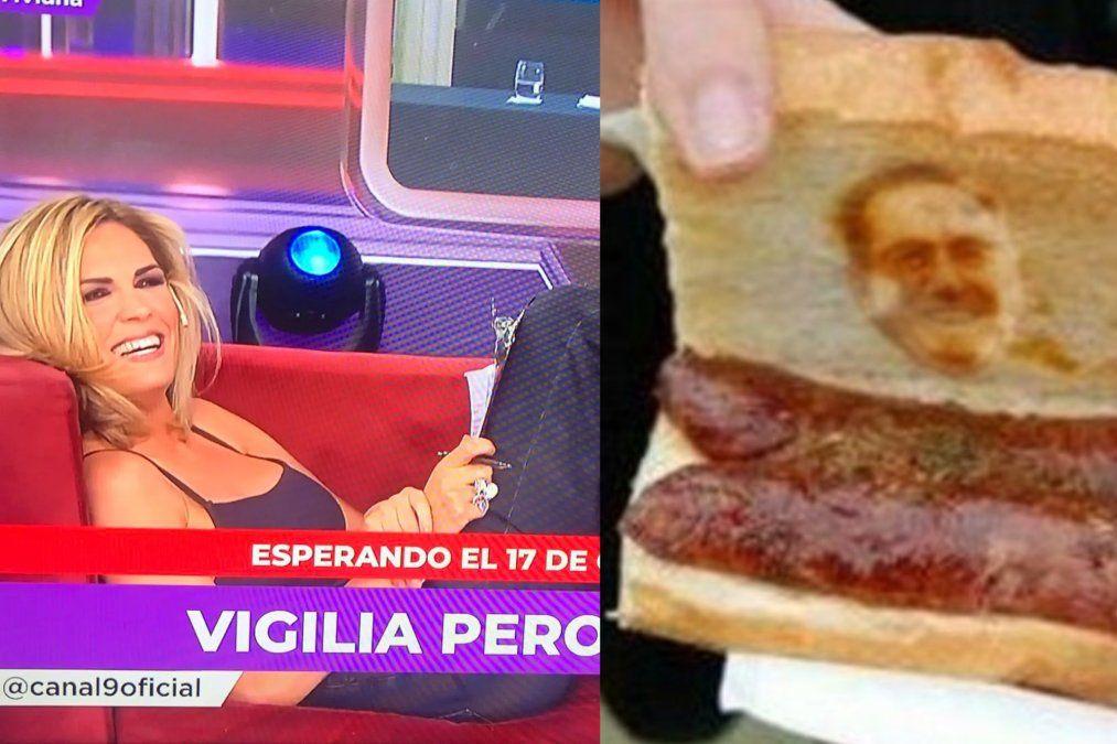Viviana Canosa le va a mandar un choripán a Alberto Fernández (de parte de Moreno)