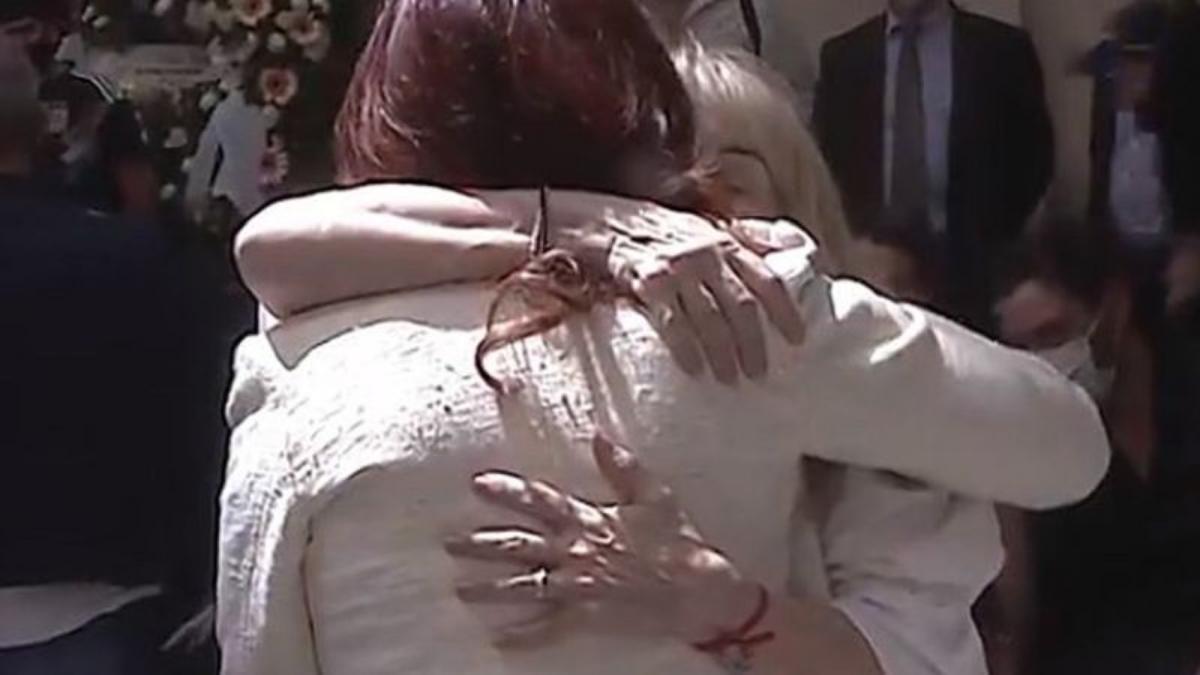 Cristina Kirchner y Claudia Villafañe