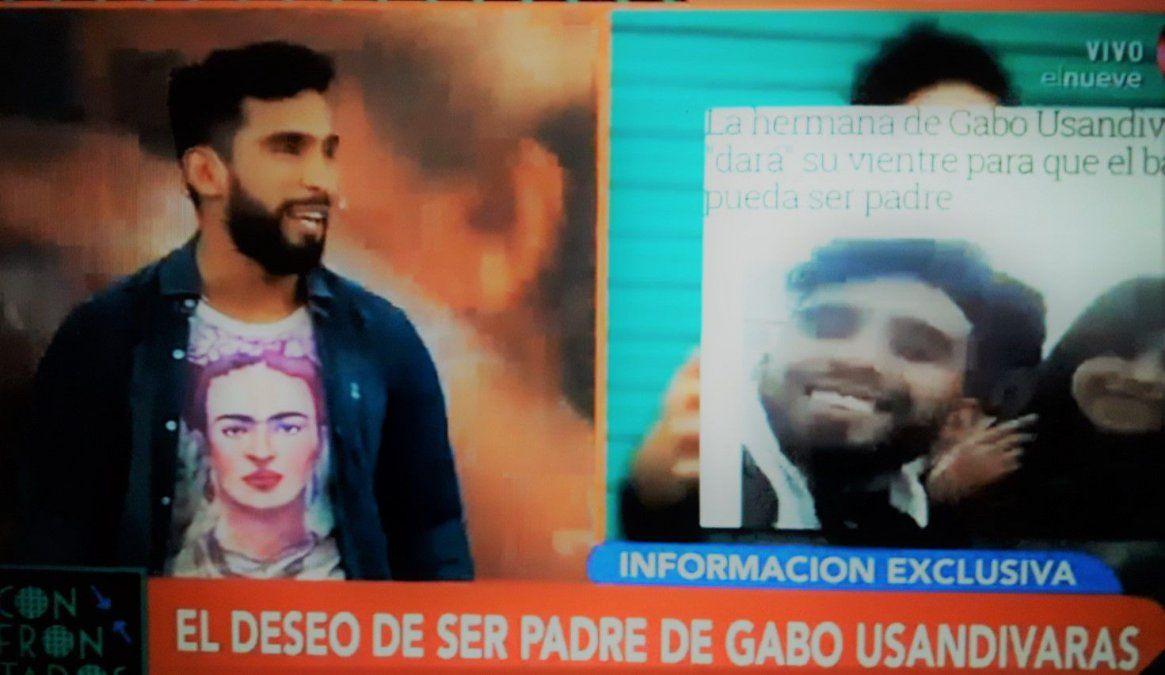 Gabo confirmó sus deseos de ser padre con la ayuda del vientre de su hermana