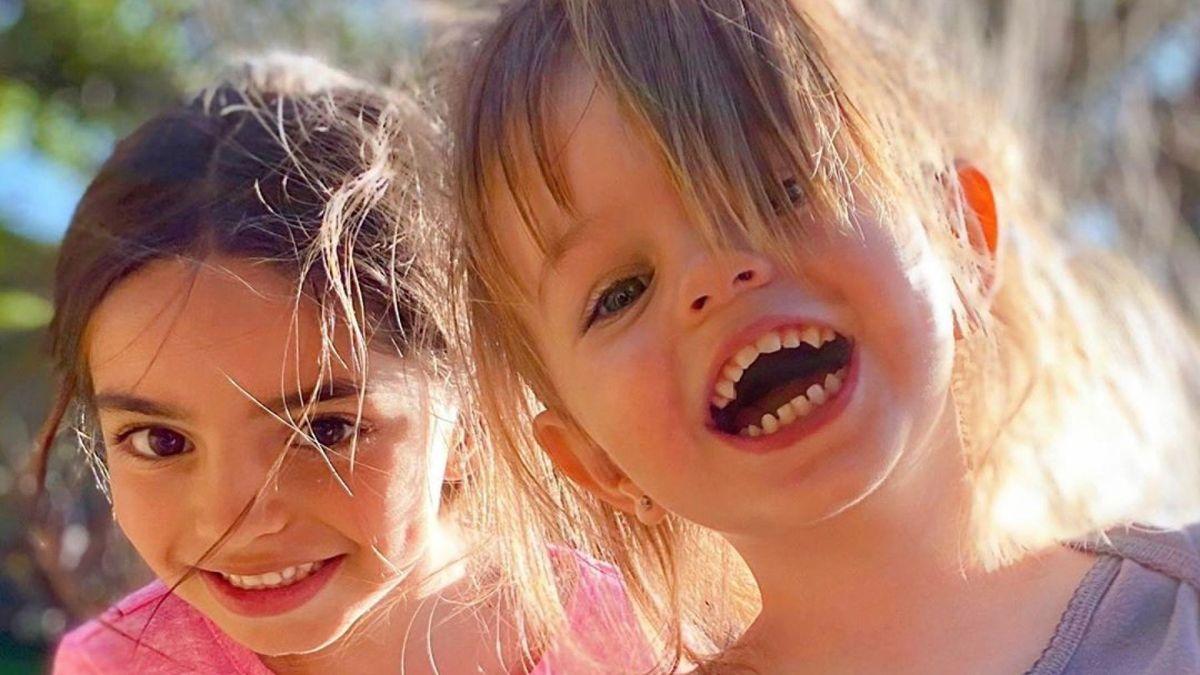 Aitana Derbez y Kailani se convirtieron en unas tiernas princesas