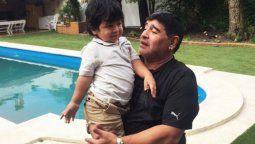 Dieguito Fernando Maradona quiere volver al colegio