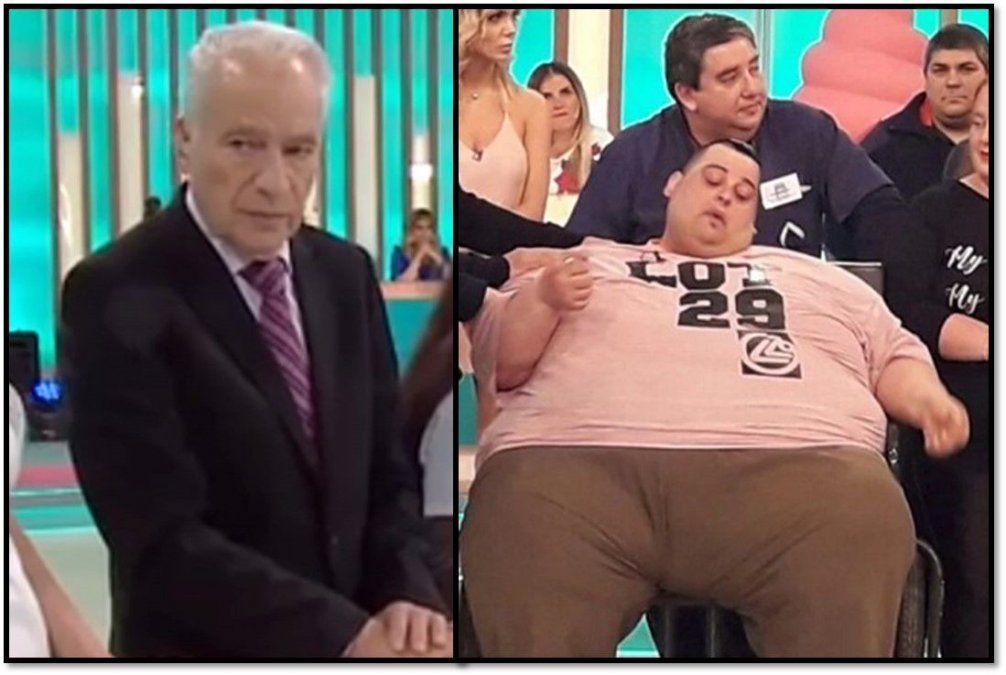 El Dr. Cormillot habló de la muerte de Maxi, el ex participante de Cuestión de peso: Se murió con 300 kilos de más