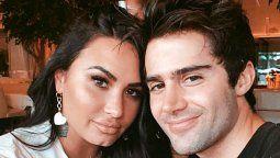 Ex de Demi Lovato, Max Ehrich, presume en Instagram fotos con una cantante