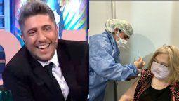 Jey Mammon feliz por la vacunación de su madre: ¡Vamos Ana María!