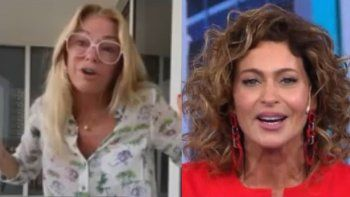 El palito de Karina Mozzocco a Yanina Latorre