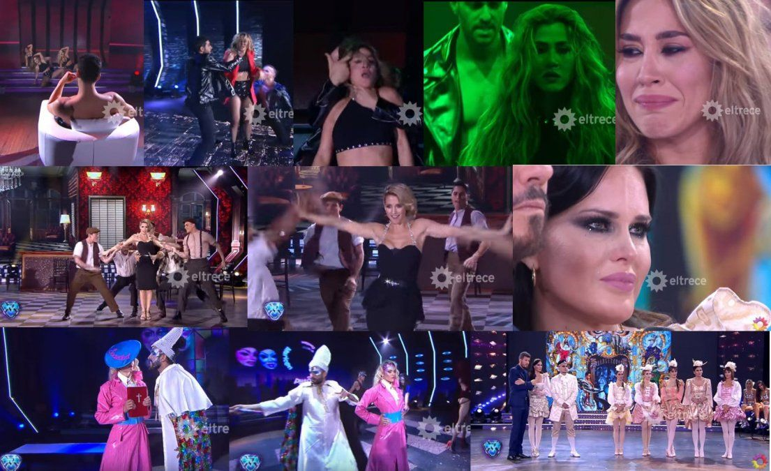 Jimena Barón emocionó con su baile contra la violencia de género; Natalie Weber se fue llorando y todo el ritmo libre