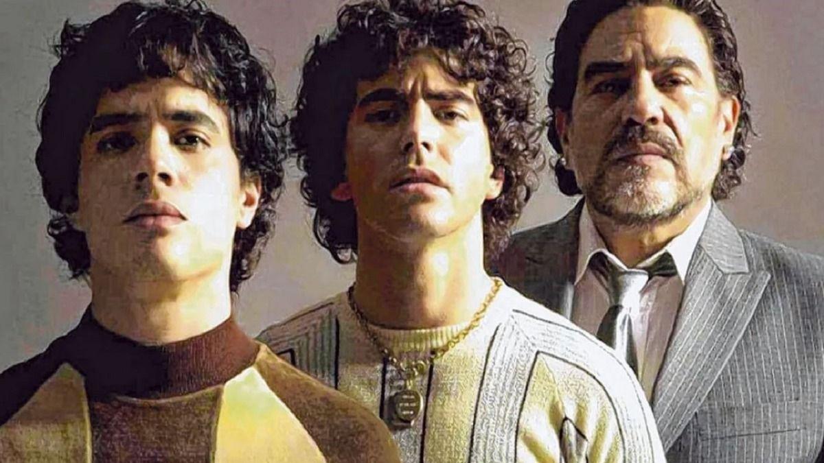 En Intrusos se filtraron imagenes de la serie que cuenta la vida de Diego Maradona Sueño Bendito