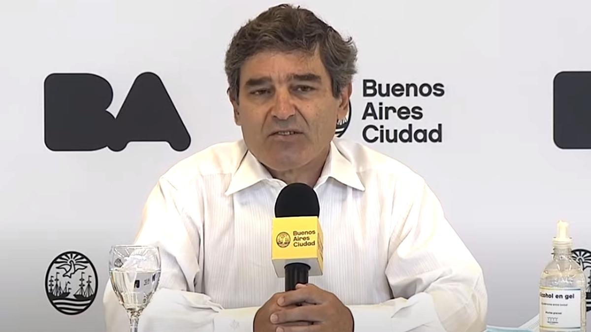 El ministro de Salud porteño aseguró que aumentaron los casos de Coronavirus en la Ciudad de Buenos Aires
