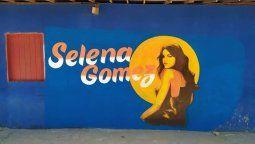 ¡Gran detalle! Selena Gomez ahora tiene un mural en México
