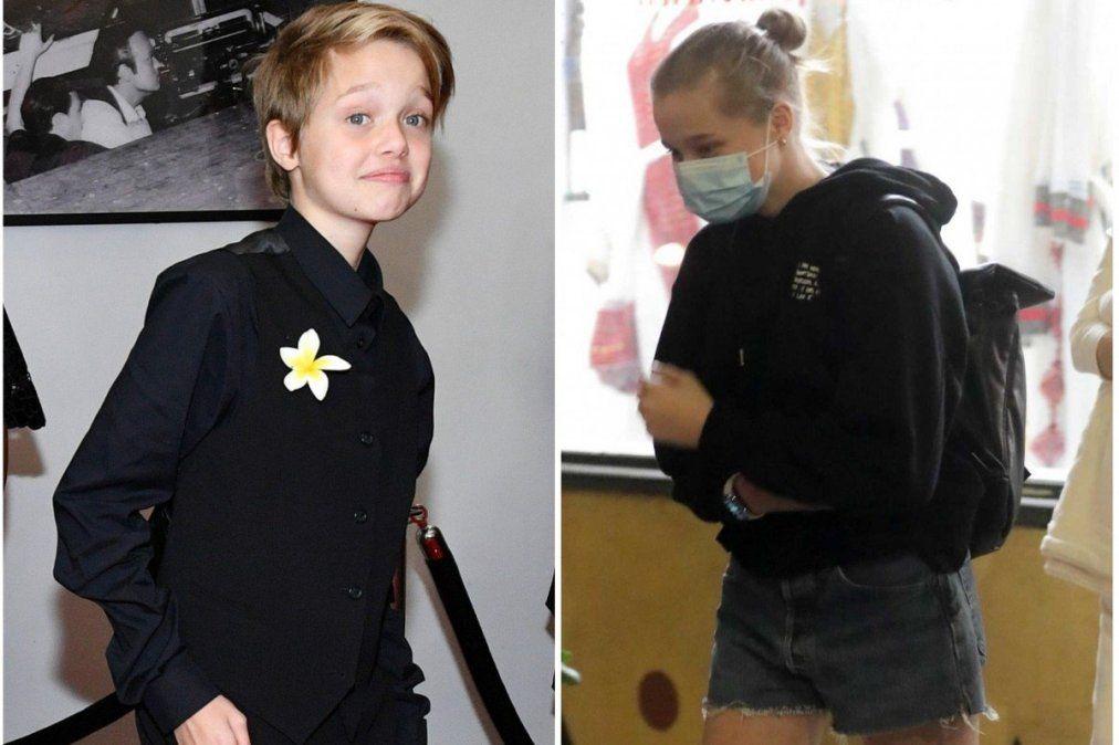 El hijo de Angelina Jolie y Brad Pitt