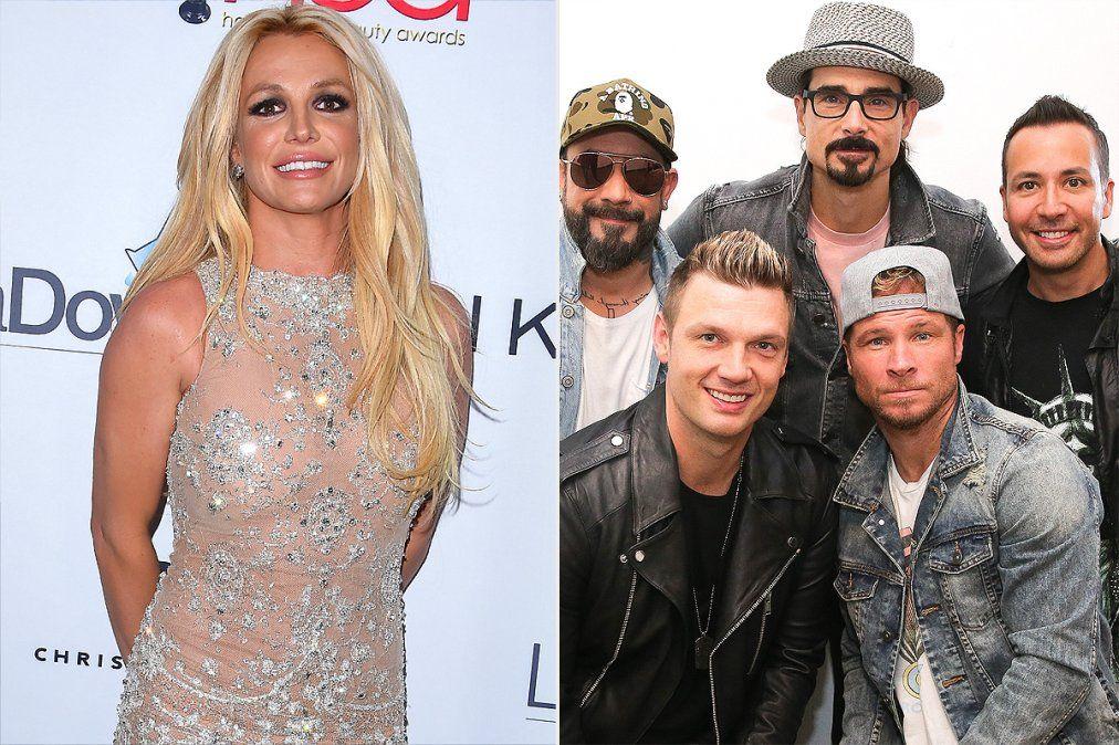 Britney y Backstreet Boys volvieron con todo