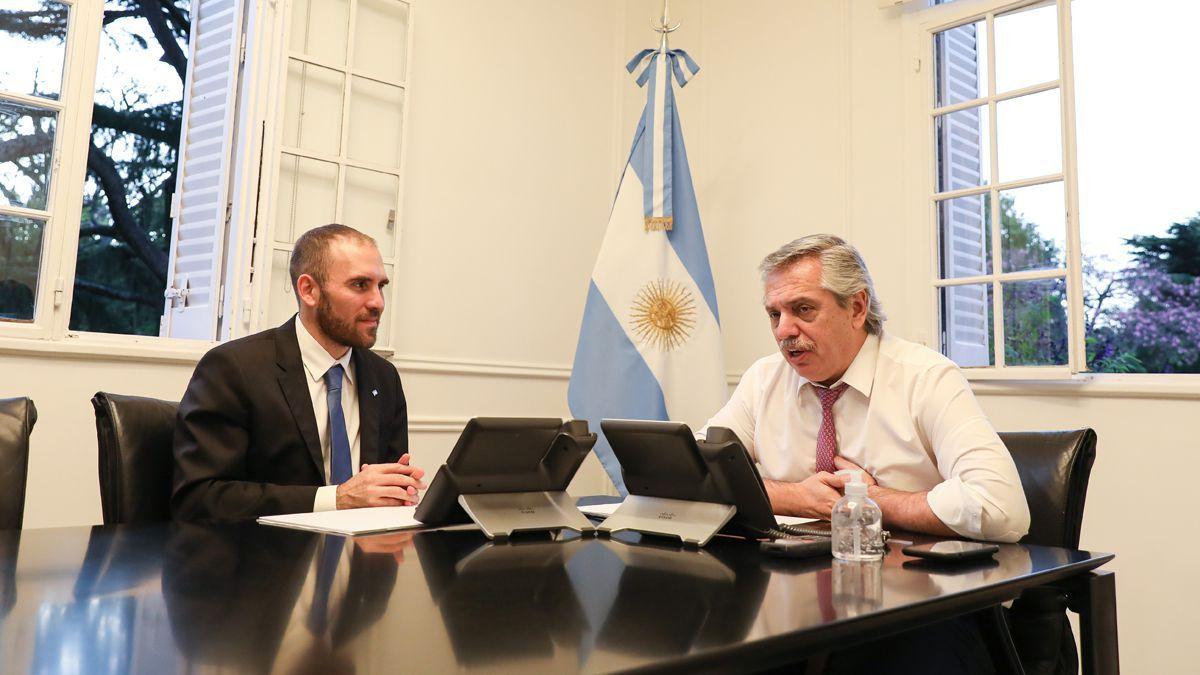El presidente Alberto Fernández y el ministro Martín Guzmán deben evitar caer en default