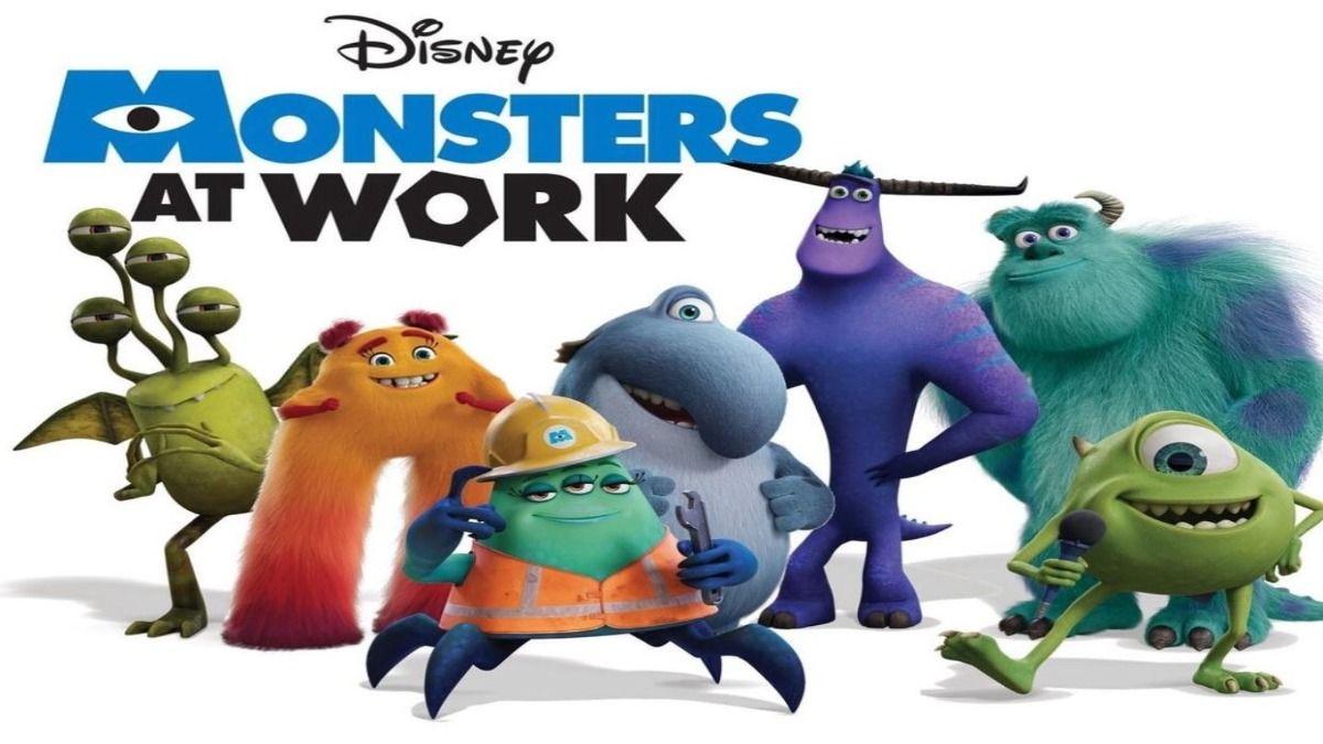 La serie Monsters at Work se estrenará en la plataforma Disney +