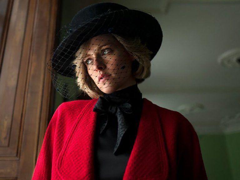 La actriz Kristen Stewart como Lady Di