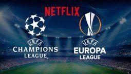 Netflix transmitirá en Francia los partidos de la Champions League y Eurocopa